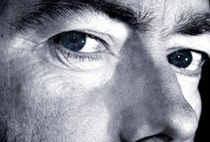 Betontes Gesicht stockfotografie