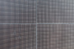 Betonu i metalu ścienna tekstura Zdjęcia Royalty Free