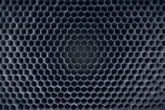 Betonu popielaty heksagonalny deseniowy tło świadczenia 3 d Obraz Royalty Free