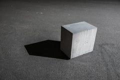 Betonwürfel-Block Lizenzfreie Stockfotos