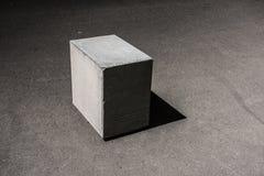 Betonwürfel-Block Stockbilder