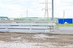 Betonów stosy Zdjęcie Royalty Free