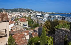 Betoverend Cannes, Frankrijk Stock Fotografie