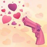 Betoverend roze kanon Royalty-vrije Stock Afbeelding