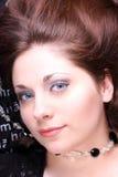 Betoverende jonge vrouw Royalty-vrije Stock Afbeeldingen