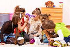 Betoverende meisjes Royalty-vrije Stock Foto