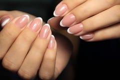 betoverende mooie manicure Stock Foto