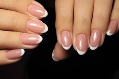 betoverende mooie manicure Stock Fotografie