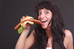Betoverings Snel Voedsel Stock Afbeelding