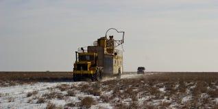Betpakdala - степь южного Казахстана Стоковые Изображения
