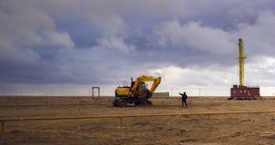 Betpakdala steppe southern kazakhstan Royalty Free Stock Photography
