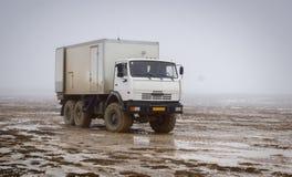 Betpakdala - Steppe von Süd-Kasachstan lizenzfreie stockbilder