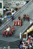 Beträffande-enactment Royaltyfria Foton
