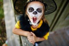 Betrügen bei Halloween lizenzfreie stockfotografie