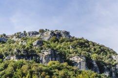 Betrachten des Berges Lizenzfreie Stockbilder