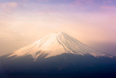 Betrachten Sie genaueres Fuji Lizenzfreie Stockbilder