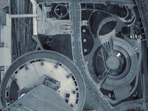 Betrachten Sie unten der Stadt (2) lizenzfreie stockfotos