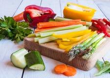 Betrapte groenten Royalty-vrije Stock Afbeeldingen