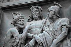 Betrayal of Judas. Judas Jesus Roman governor Pontius Pilate Stock Photography