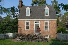 Betreten Sie historisches Haus Lizenzfreies Stockfoto