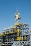 Betriebsausrüstung mit dem Windkegel Lizenzfreies Stockfoto