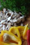 Betriebsbereite Nahrungsmittelbestandteile Lizenzfreie Stockfotos