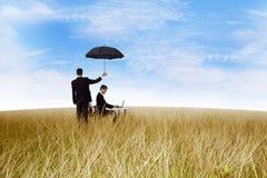 Betriebsversicherung Stockbilder