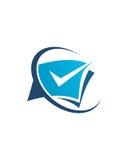 Betriebsversicherungszusammenfassung des Buchhaltungslogodesigns 5 vektor abbildung