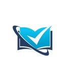 Betriebsversicherungszusammenfassung des Buchhaltungslogodesigns 2 vektor abbildung