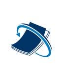 Betriebsversicherungszusammenfassung des Buchhaltungslogodesigns 4 lizenzfreie abbildung