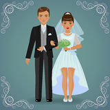 The betrothed pair Royalty Free Stock Image