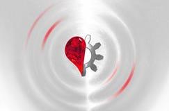 Betrouwbaar hart Stock Foto's