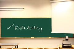 Betrouwbaarheid Stock Foto's