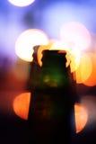 Betrunkene Flaschenillusionen Stockbilder