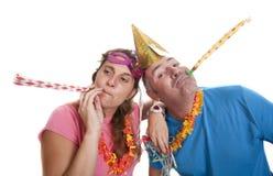 Betrunkene Party stockfotografie