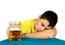 Betrunkener Mann lizenzfreies stockbild