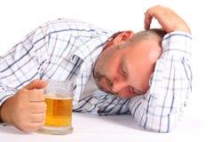Betrunkener Mann Lizenzfreie Stockbilder