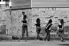 Betrunkenes Mädchen Stockbilder