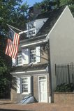 Betsy Ross House Stock Photo