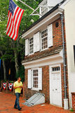 The Betsy Ross House, Philadelphia Royalty Free Stock Photos