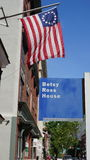 Betsy Ross House in Philadelphia. Pennsylvania (USA Stock Image