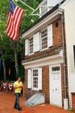 Betsy Ross House, Philadelphie Photos libres de droits