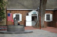 Betsy Ross hus Arkivfoto