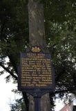 Betsy Ross Signboard de Philadelphia en Pennsylvania los E.E.U.U. imagen de archivo libre de regalías