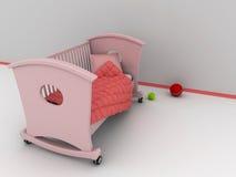 Bett der Kinder vektor abbildung