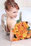 Bett der Rosen O lizenzfreie stockbilder