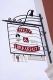 Bett u. Frühstück lizenzfreie stockbilder