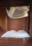 Bett und Netz Stockfotografie