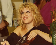 Bette Midler royalty-vrije stock afbeeldingen