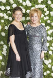 Bette`s Big Night at the Tonys. `The Divine Miss `M`,` Bette Midler, poses with her daughter, Sophie von Haselberg, shortly before she won for Best Stock Photography